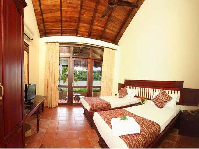 8 Days Kerala Yoga Retreat at Fragrant Nature Backwater Resort