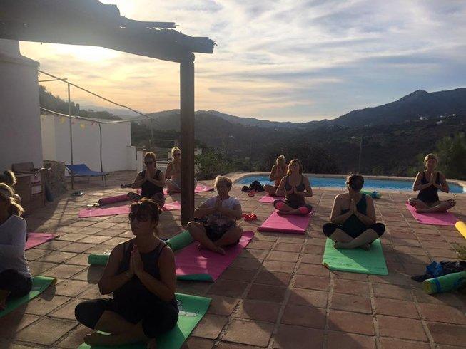 4 jours en stage de yoga, pleine conscience et auto-développement en Andalousie