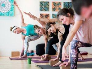 15 días profesorado de yoga Sattva Vinyasa de 200 horas en Guanacaste, Costa Rica