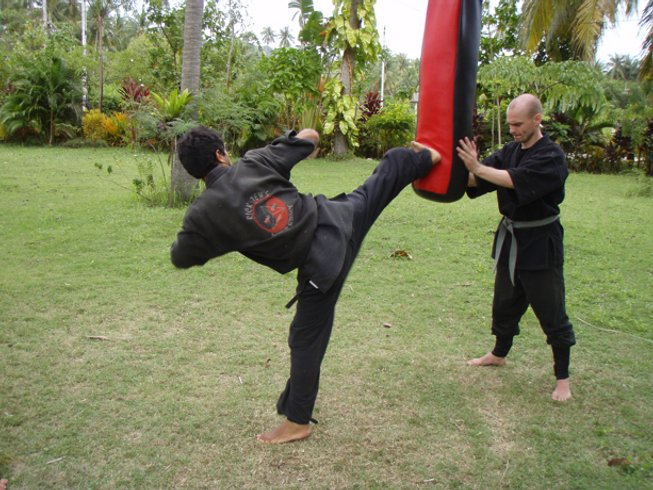 1 Month Private Group Martial Arts Training Thailand