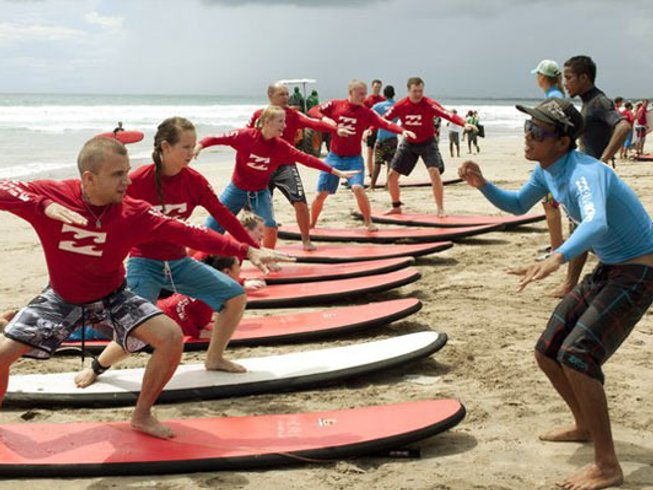 14 Days Hiking, Yoga, and Surf Camp Bali