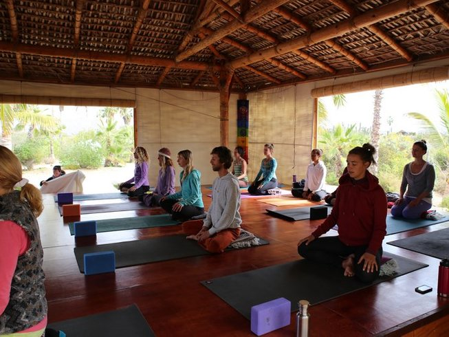 28 Days 200-Hour Immersion to Yogic Lifestyle Yoga Teacher Training in Baja, Mexico