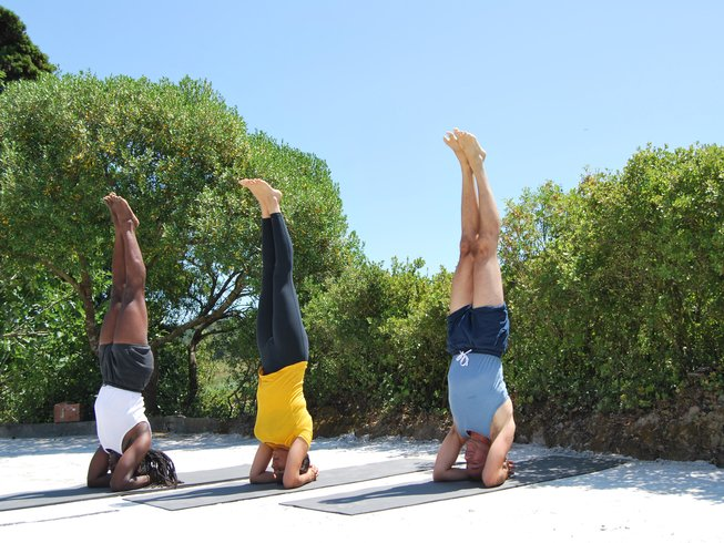 4 Days Yoga and Surf Retreat in Columbeira, Portugal