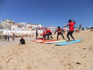 8-Daagse Surf en Yoga Retraite in Lisboa, Portugal