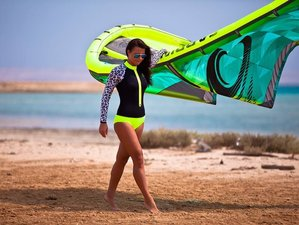 8 Days Red Shark Kitesurf Camp in Villaverde, Fuerteventura, Spain