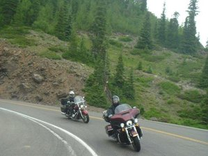 17 Day High Country Fully-Guided Colorado Loop Motorcycle Tour in USA via South Dakota