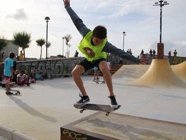 8 Days Children Summer Surf Camp in Playa Somo, Spain