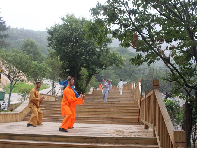 2 Months Kungfu, Sanda, Qi Gong & Taichi Training in Tianmeng Mountains, China