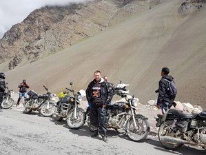 10 Day Hidden Himalayas: Zanskar Valley Premium Guided Motorcycle Tour in India