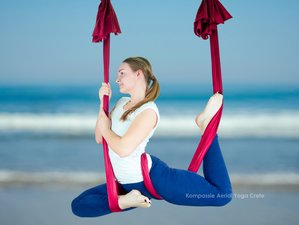 8-Daagse Luxe Retreat met Yoga, Massage, Aerial-Yoga op Kreta, Griekenland