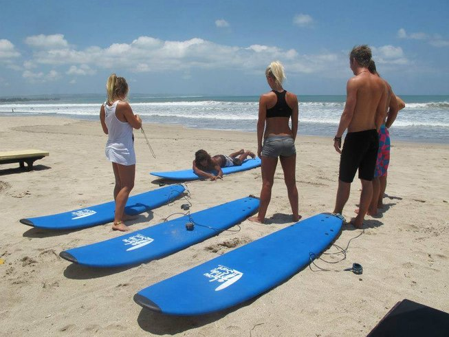 8 Days Exciting Surfcamp Bali