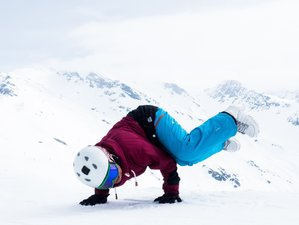 5 Days New Year Ski Yoga Retreat in France