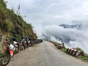 9 Days Adventurous Vietnam Motorbike Tour from Hanoi to Ba Be, Ban Gioc, Cao Bang and Halong Bay
