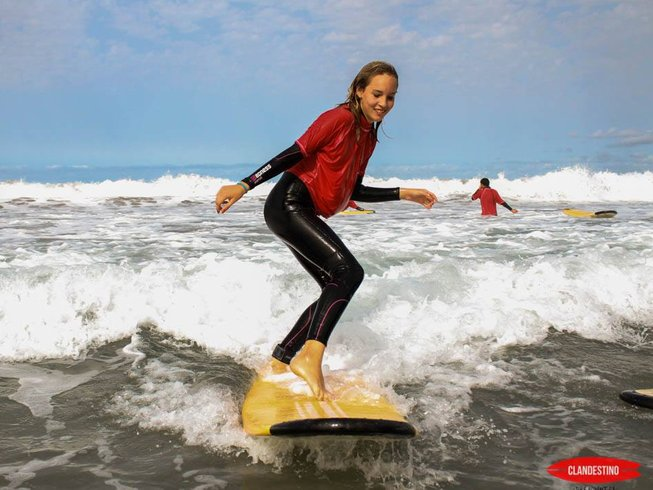 8 Days Surf and Yoga Retreat Spain