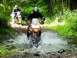 3 Day Guided Off-Road Motorcycle Tour in Auvergne, France