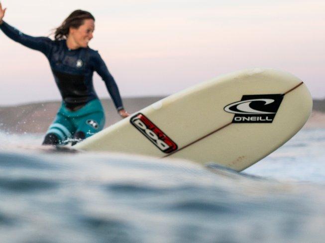 7 Tage Surf, Abenteuer und Yoga Urlaub in Cornwall, Großbritannien