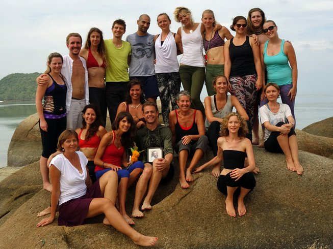 30 Days 200 Hours Hatha Teacher Training on Koh Phangan, Thailand