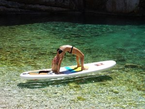 8 jours en retraite de yoga stand up paddle en Croatie