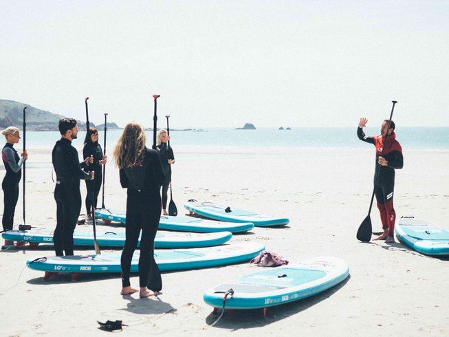 4 Days Jersey Surf Camp, Detox, and Yoga Retreat