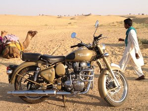 14 Day Luxury Rajasthan Guided Motorbike Tour in India