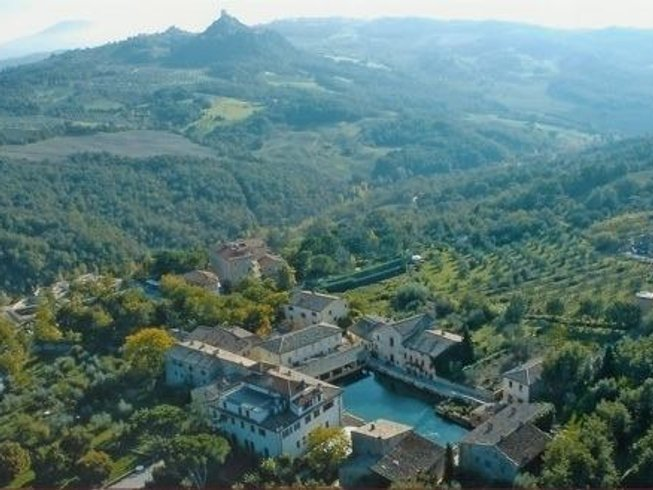 3 Days Unique Spiritual Yoga retreat with Thermal Hot Springs in Tuscany, Italy