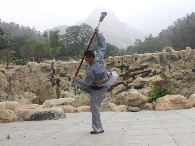 3 Months Study Shaolin Kungfu, Sanda, Wing Chun in Mountains, Shandong, China