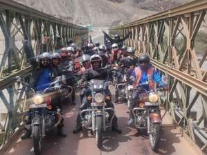 6 Day Leh Loop Guided Motorcycle Tour in India