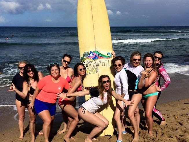 5 Day Chica Surf and Yoga in Puerto Rico