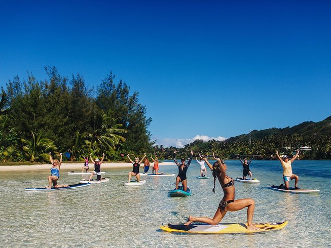 7 Days SUP Yoga Retreat in Cook Islands