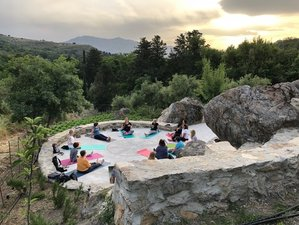 8 Day Yoga with Aromatherapy, Herbal Journeys, and Holistic Experiences in Spili, Crete