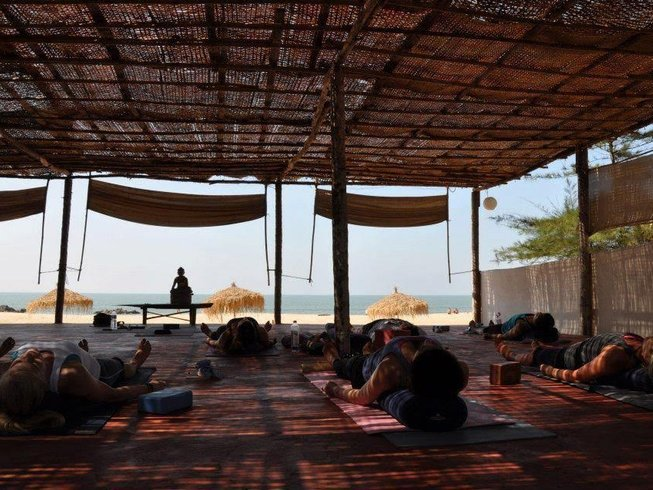 7 Days Chill Out and Relaxing Yoga Retreat in South Goa, India