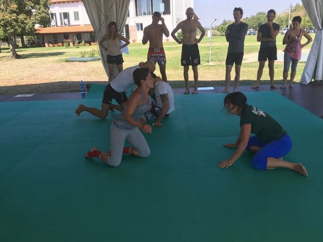 3 Days Light Silent Warrior Training and MMA Camp in Sezzadio, Italy
