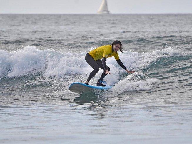 2 Days Weekend Surf Camp in Tenerife