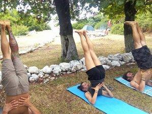 8 Tage Indische Meditation und Heilung im Yoga Urlaub in Lefkada, Griechenland
