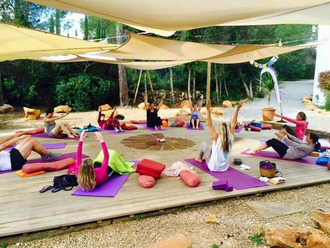8 Days Iyengar Yoga Retreat in Ibiza