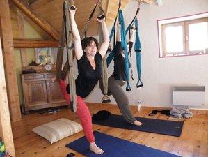 3 jours en week-end de yoga aérien dans la Drôme, France