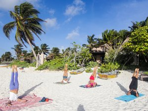8-Daagse Kiteboarding & Yoga Retraite in Tulum, Mexico