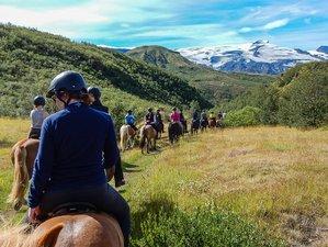 7 Day Private Comfy Þórsmörk Horse Riding Holiday in Hvolsvöllur, Rangárþing eystra