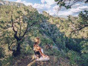 3 jours en stage hatha yoga et reconnexion à la nature sous le soleil de l'arrière pays niçois