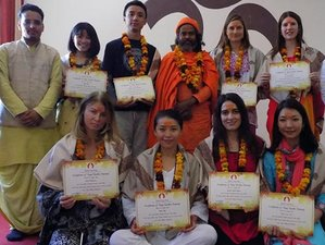 28 Days 200 Hours Scholarship Hatha Yoga Teacher Training Course in Rishikesh, India