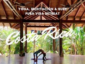 7 Days Pura Vida Yoga and Surf Retreat in Costa Rica