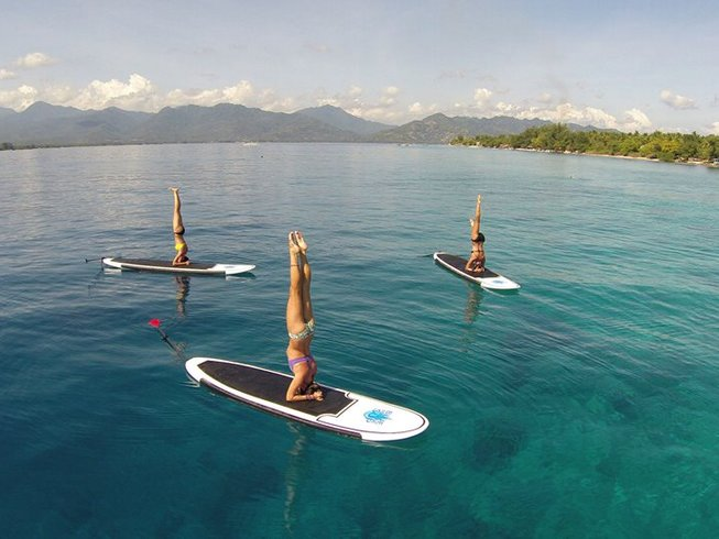 3 Days SUP and Yoga Retreat in Bali
