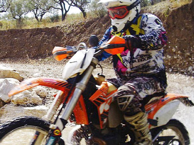 5 Days Dirt Motorcycle Tour in Andalusia, Spain