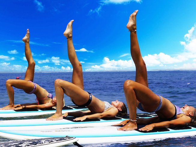 7 Days SUP and Yoga Retreat in Bali