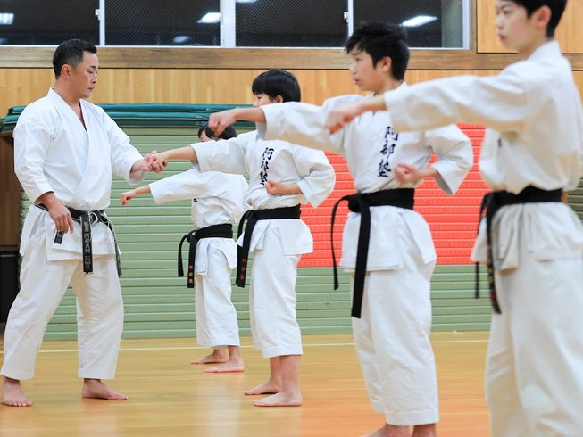 8 Days Black Belt Karate Training in Sendai, Japan