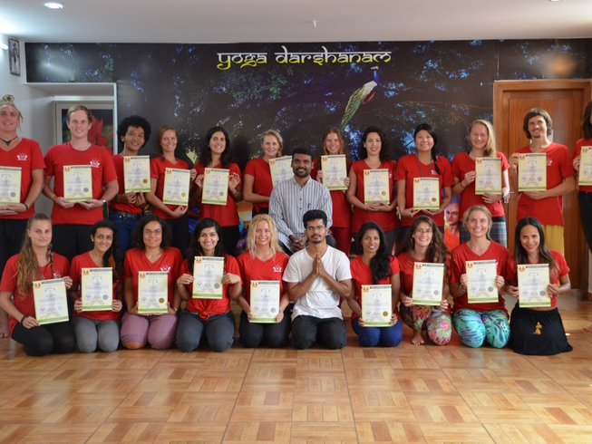 30 Days 300hrs Ashtanga Yoga Teacher Training in India