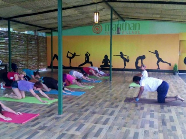 8 Days Detoxification and Yoga Retreat in India
