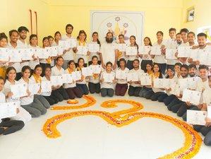 24 Day 200-hour Hatha, Vinyasa Yoga Teacher Training in Rishikesh