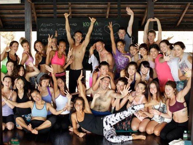 28 días 200hr profesorado de yoga Vikasa en Ko Samui