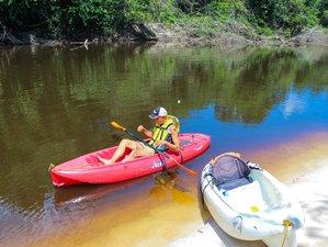 5 días de viaje en kayak por el río Urubu y exploración en la selva del Amazonas, Brasil